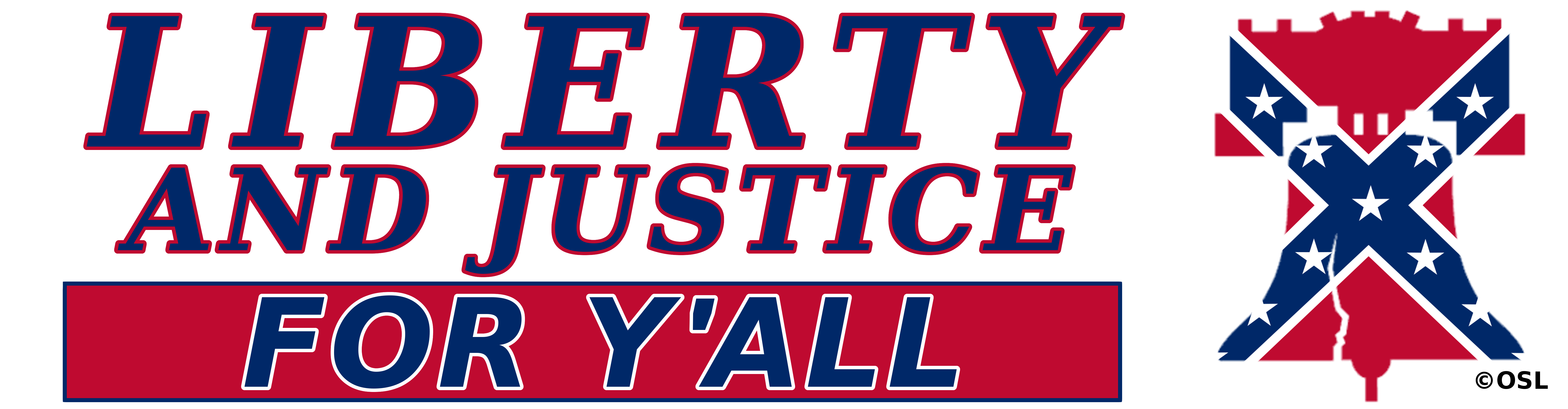 Liberty and justice for all seal