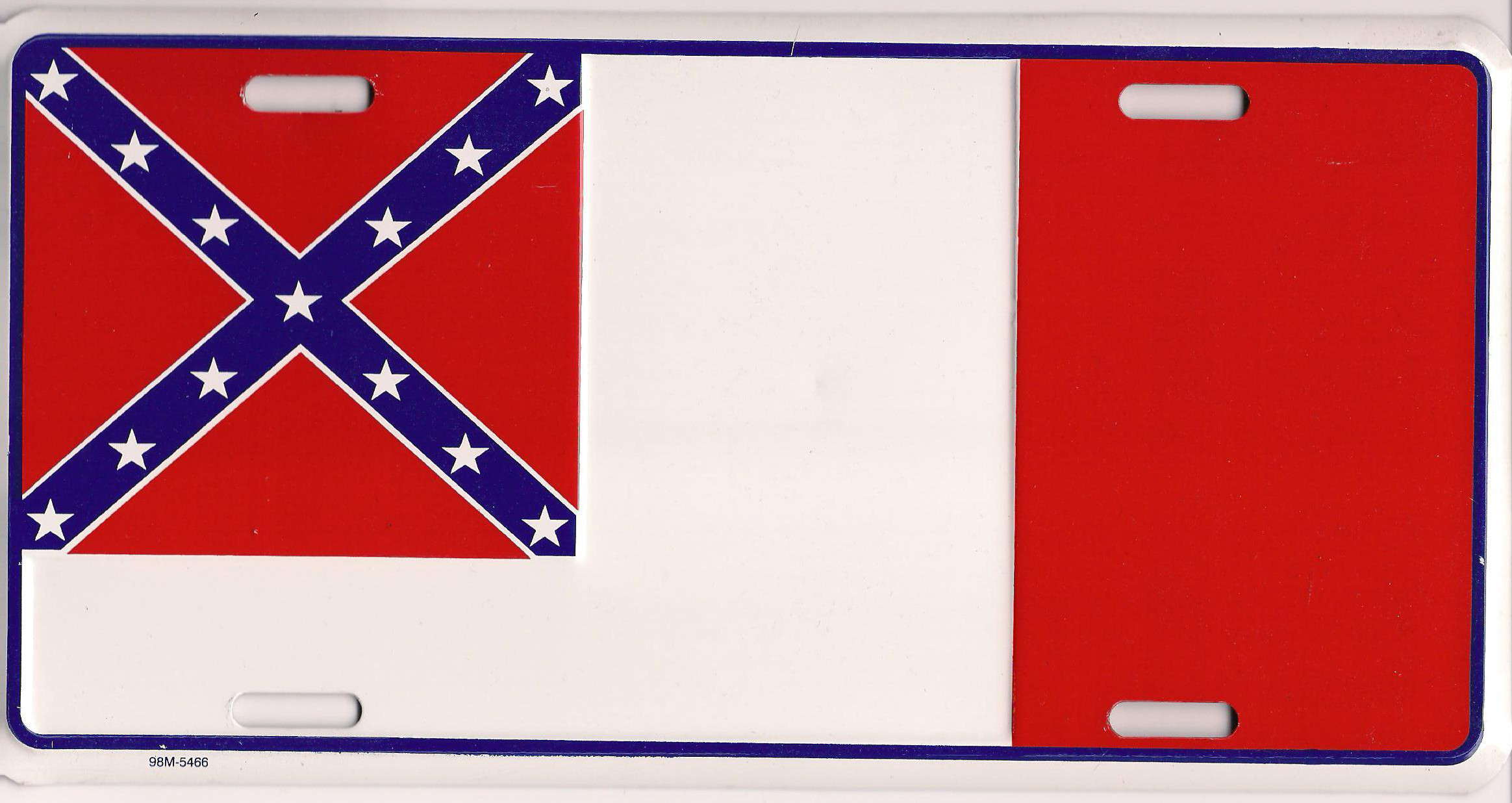 third national flag license plate 5 90 olde south limited
